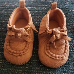 Carters 0-3 months Moccasins NEW